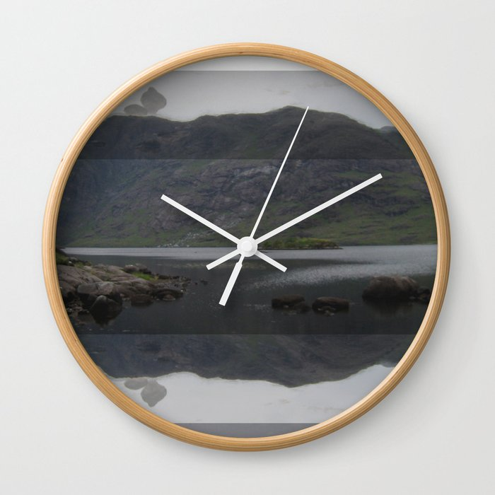 FORCED MIRROR III. Wall Clock