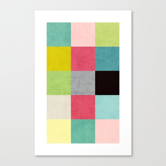 color block II Canvas Print