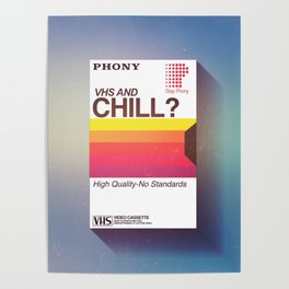 VHS and Chill Poster