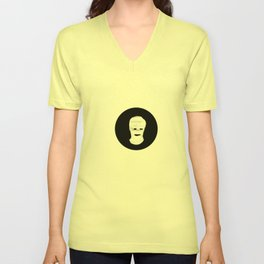 Communication misleading Unisex V-Neck