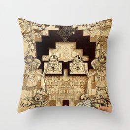 AutorreTracks - Inspired by Thirty Three Throw Pillow