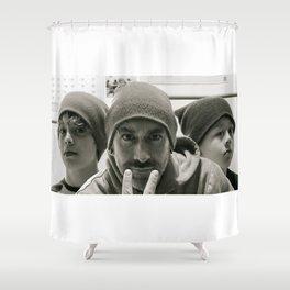 The Boyz Shower Curtain