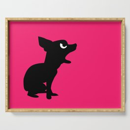 Angry Animals: Chihuahua Serving Tray
