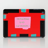 om iPad Cases featuring OM by lucborell