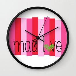 Madder In Love Wall Clock