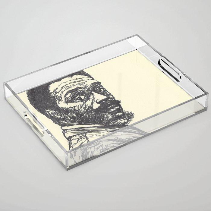 Albert Ayler Acrylic Tray