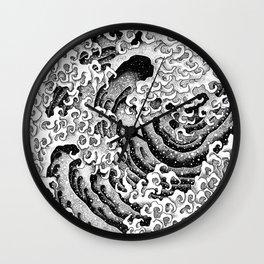 HATCH vs Hokusai: Wave (Masculine) Wall Clock