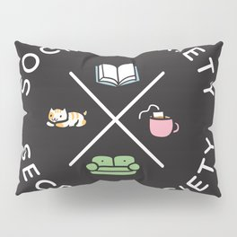 Social Anxiety Secret Society Pillow Sham