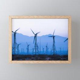 Blue Wind Energy 0286 Framed Mini Art Print