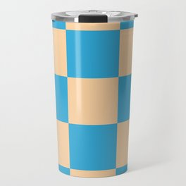 classic retro checked pattern Machyles Travel Mug