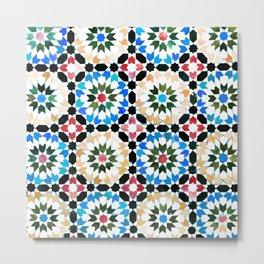 Oriental pattern Metal Print