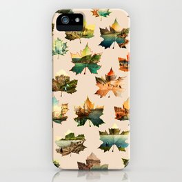 Memory in Leaves iPhone Case