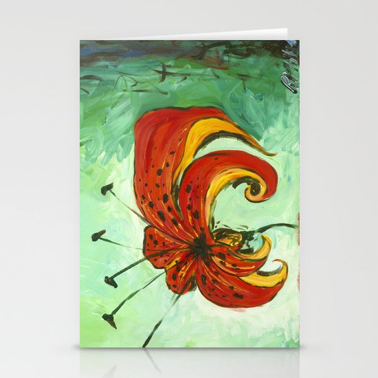 Tiger Lily Stationery Cards