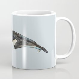 Watercolor orca Coffee Mug