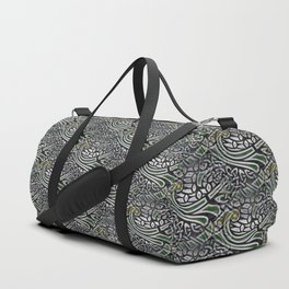 Celtic Birds Knot Work 3D Duffle Bag
