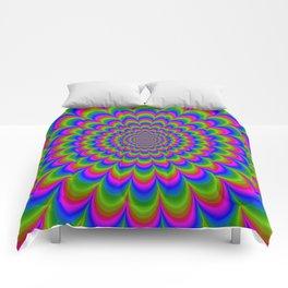 Psychedelic 60's Comforters