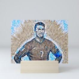 𝓒𝓻𝓲𝓼𝓽𝓲𝓪𝓷𝓸 - Ronaldo - 𝓡𝓸𝓷𝓪𝓵𝓭𝓸 Cristiano - Dos Santos Aveiro - Futbol - Soccer - 7 Mini Art Print