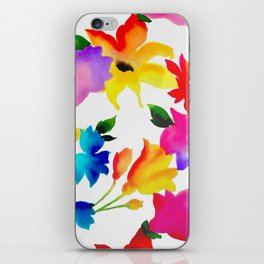 Dancing Floral iPhone Skin