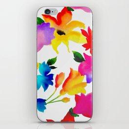 Dancing Floral iPhone Skin