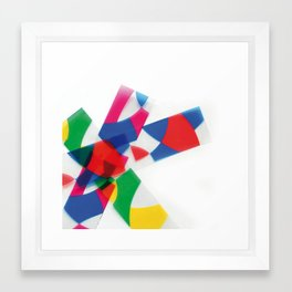 Unknown Shapes Framed Art Print