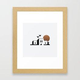 bwahaha! Framed Art Print