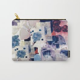 patchy collage Carry-All Pouch