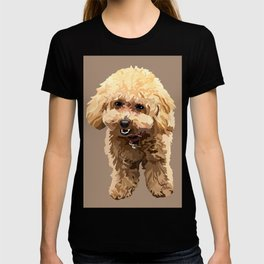 Muffin the toy poodle T-shirt