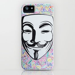 Guy Fawkes Mask iPhone Case