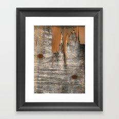Fray Framed Art Print