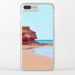 Red Cliffs Red Sands Clear iPhone Case