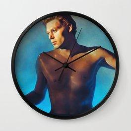 Johnny Weissmuller as Tarzan Wall Clock