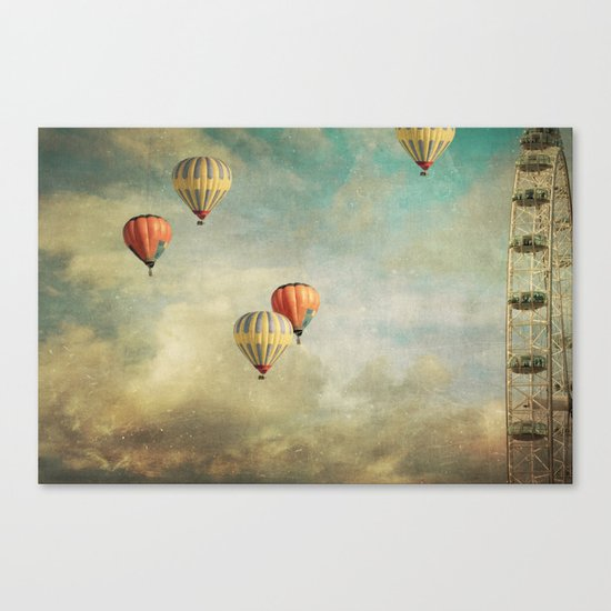 Painting Thoughts Canvas Print