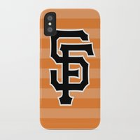 giants iPhone & iPod Cases featuring SF Giants by Kayla G