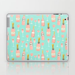 Rose champagne wine food fight apparel and gifts Laptop & iPad Skin