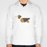 beagle Hoodies featuring beagle by rubenmontero