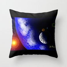 Planet Home Throw Pillow