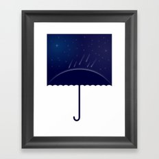 It's raining stars (2014) Framed Art Print