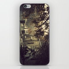 nieve en urkiola iPhone & iPod Skin