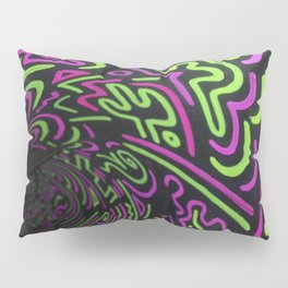 Reality Tunnel Pillow Sham