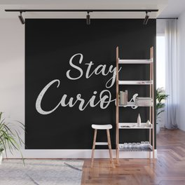 Stay Curious Wall Mural