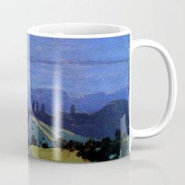 Felix Vallotton -  Landscape in the Jura Mountains (new color editing) Coffee Mug