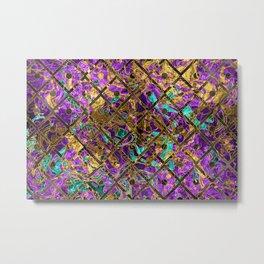 Pattern LXXXI Metal Print