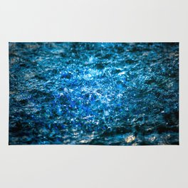 Water Color - Blue Rug