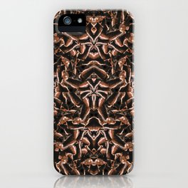 Dark Intricate Modern Tribal iPhone Case