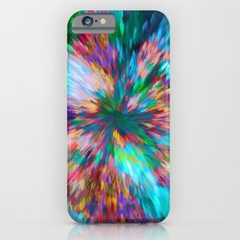 Coming To Life An Amazing Abstract Implosion iPhone Case