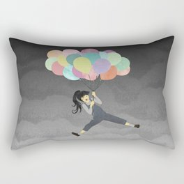 Balloon Ride Rectangular Pillow