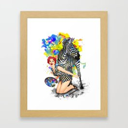Colorphobia Framed Art Print