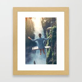 She Believes (Color) Framed Art Print