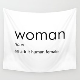 Woman (Definition) Wall Tapestry