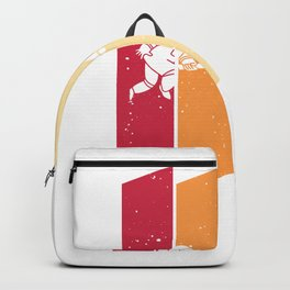 Astronaut Space Galaxy  Vintage Retro Backpack
